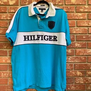 Tommy Hilfiger XL Mens Logo Polo